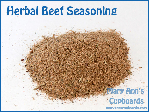 Herbal Beef Seasoning