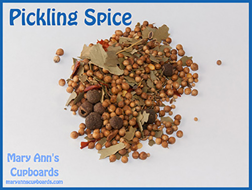 Pickling Spice by Michael Zimmerman