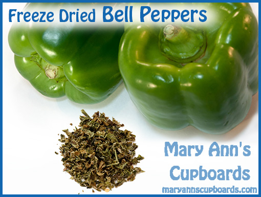 Freeze Dried Bell Peppers by Michael Zimmerman