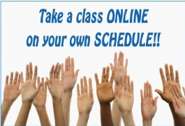 Take Classes on Your Own Schedule