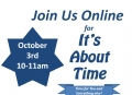 The Next Online Class - It's About Time!