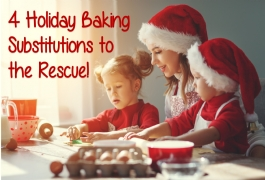 4 Great Tricks to Save on Holiday Baking