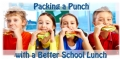 Packing a Punch with a Better School Lunch