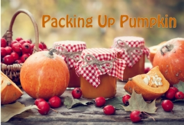 Packing Up Your Pumpkins - Don't Through them Out!
