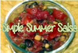 Simple Summer Salsa