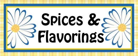 Spices & Flavorings