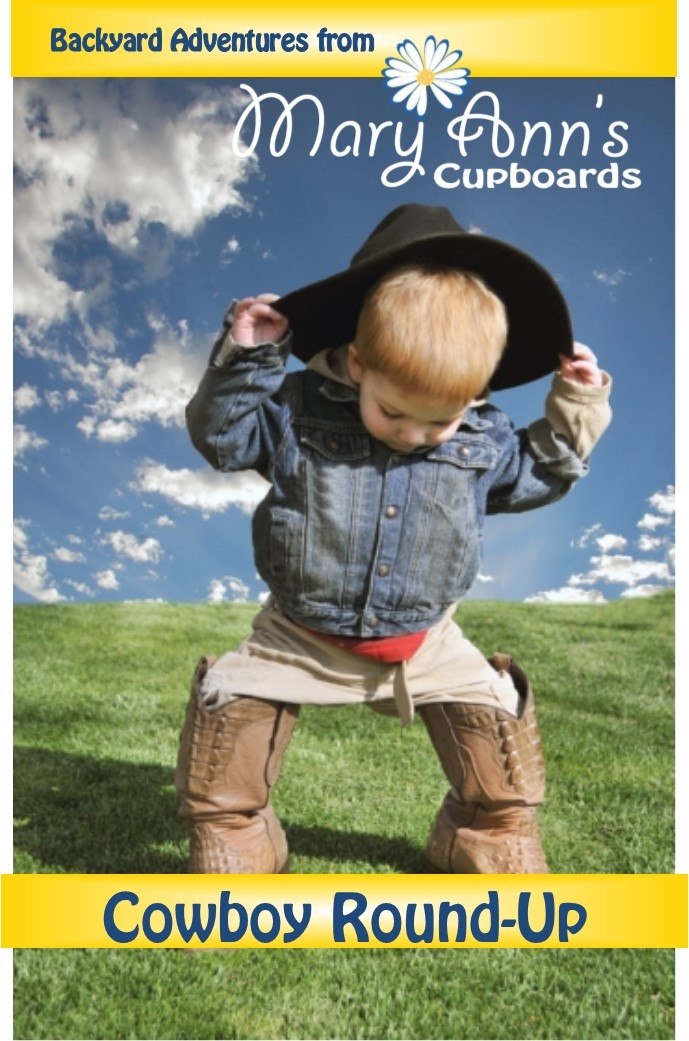 Backyard Adventures: Cowboy Round-up booklet